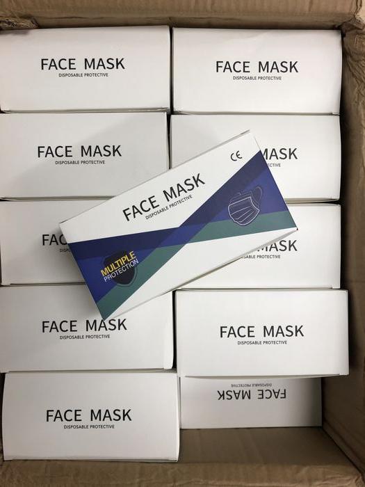 株式会社AKGROUP様よりマスク2000枚をご提供頂きました。