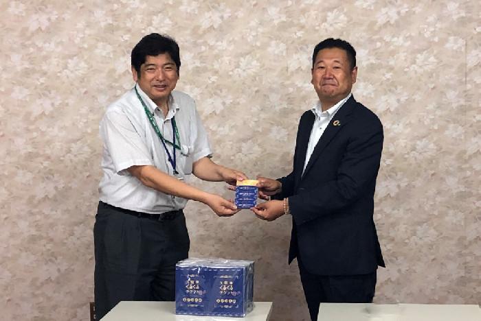 日本たばこ産業株式会社様よりくるくるチケットを寄贈していただきました。