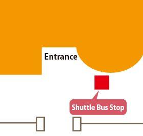 古賀病院21シャトルバス乗り場