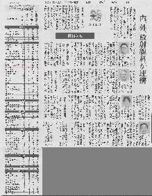 読売新聞・福岡版『病院の実力』肝臓がんの治療